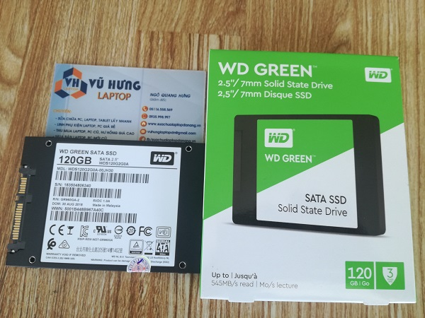 o cung ssd western digital 120gb